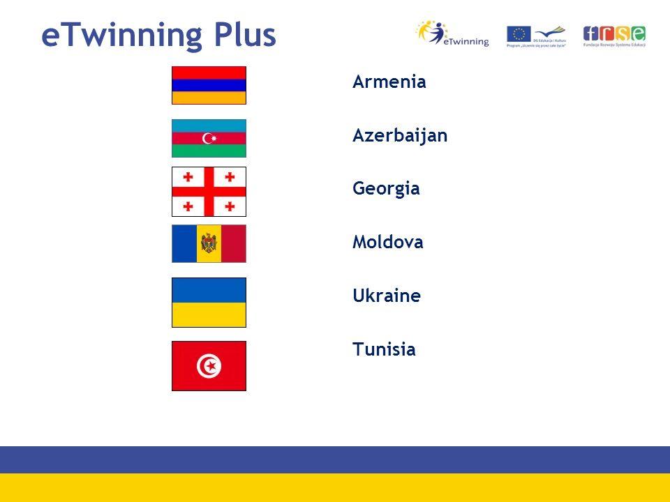 eTwinning Plus Armenia Azerbaijan Georgia Moldova Ukraine Tunisia