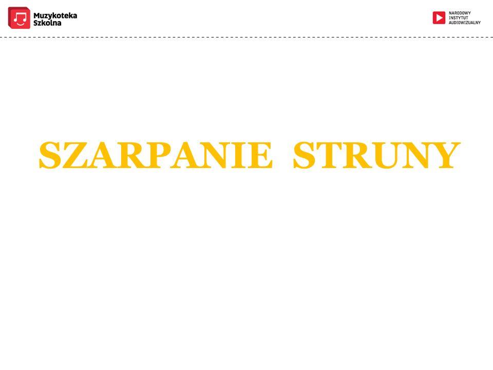 SZARPANIE STRUNY