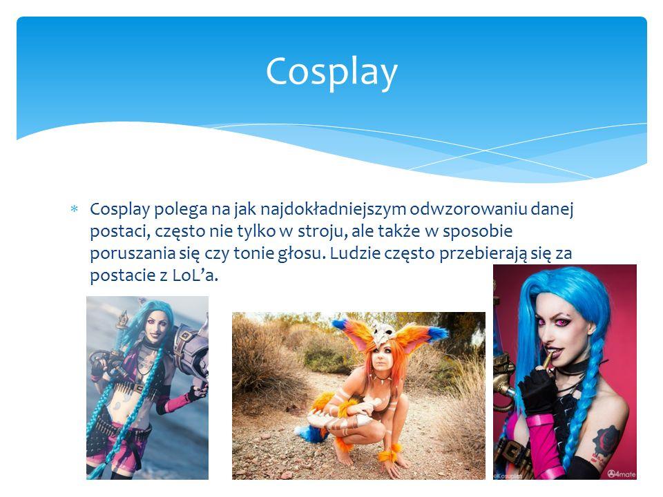  Cosplay polega na jak najdokładniejszym odwzorowaniu danej postaci, często nie tylko w stroju, ale także w sposobie poruszania się czy tonie głosu.