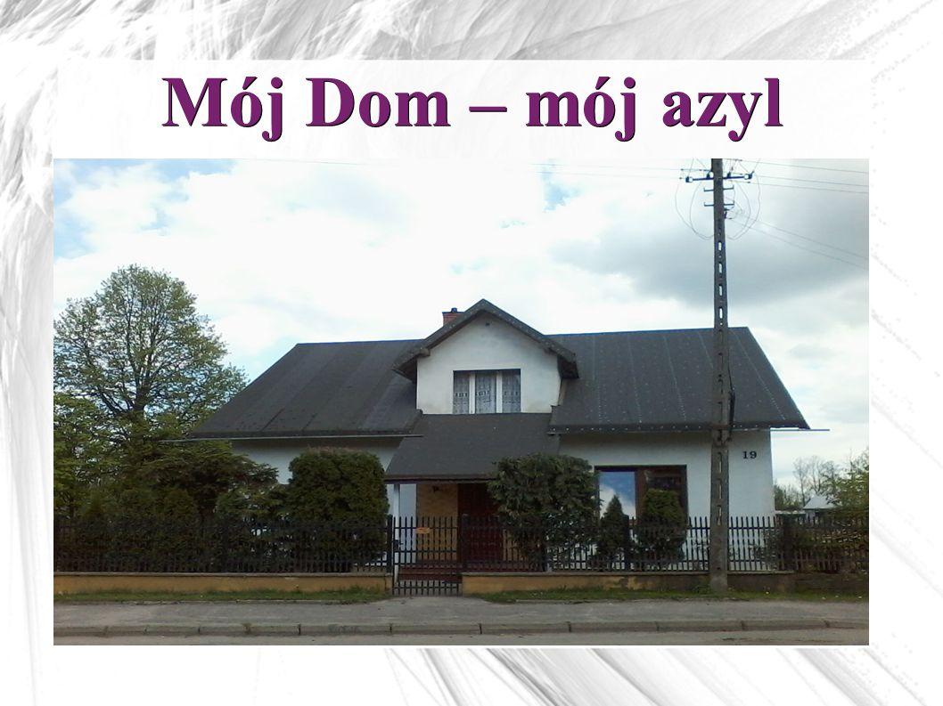 Mój Dom to prawdopodobnie pierwszy murowany dom po wojnie.
