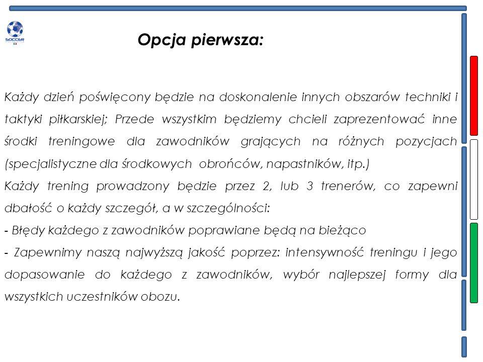 PROGRAM OBOZU(hiszp.) Powyższa tabelka to tylko przykład rozkładu zajęć podczas obozu.