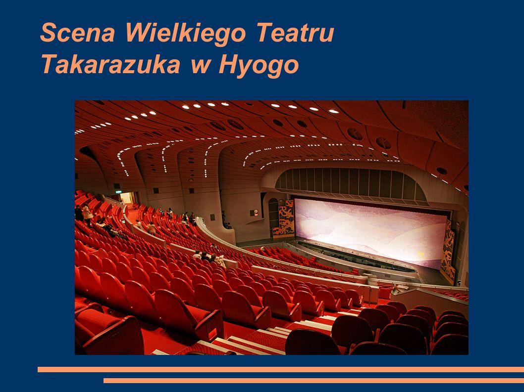 Scena Wielkiego Teatru Takarazuka w Hyogo