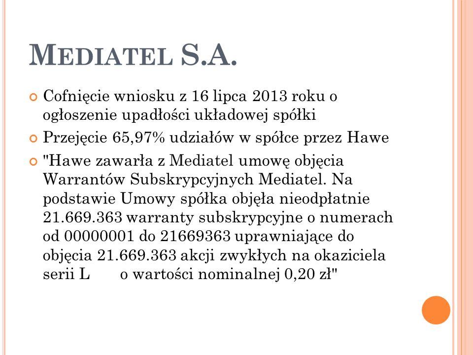 M EDIATEL S.A.