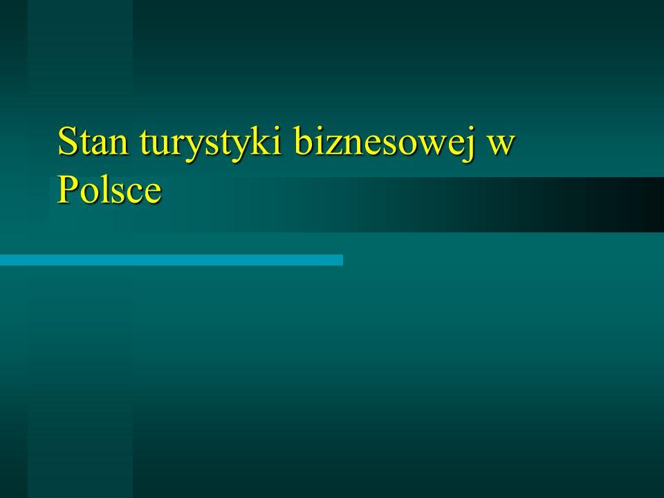 Stan turystyki biznesowej w Polsce