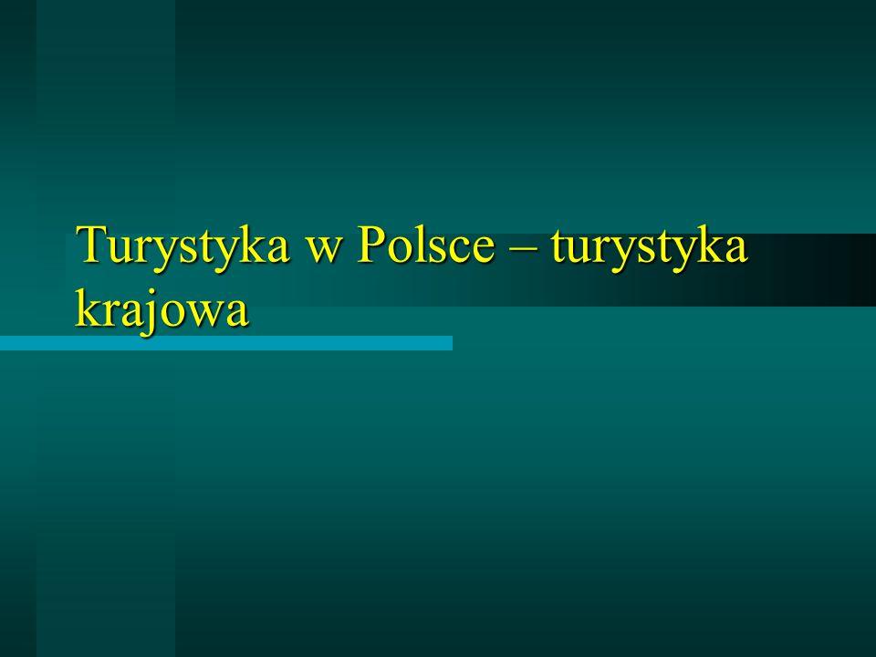 Turystyka w Polsce – turystyka krajowa