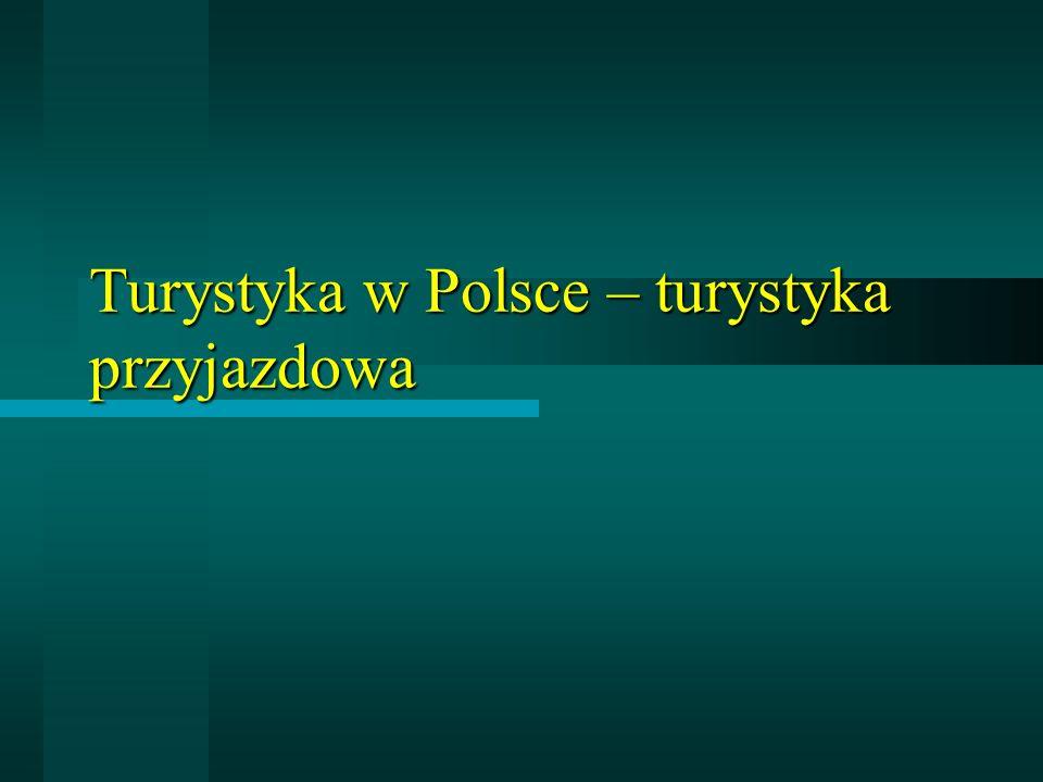 PRZYJAZDY CUDZOZIEMCÓW (turyści i odwiedzający 1-dniowi) DO POLSKI (w mln osób)