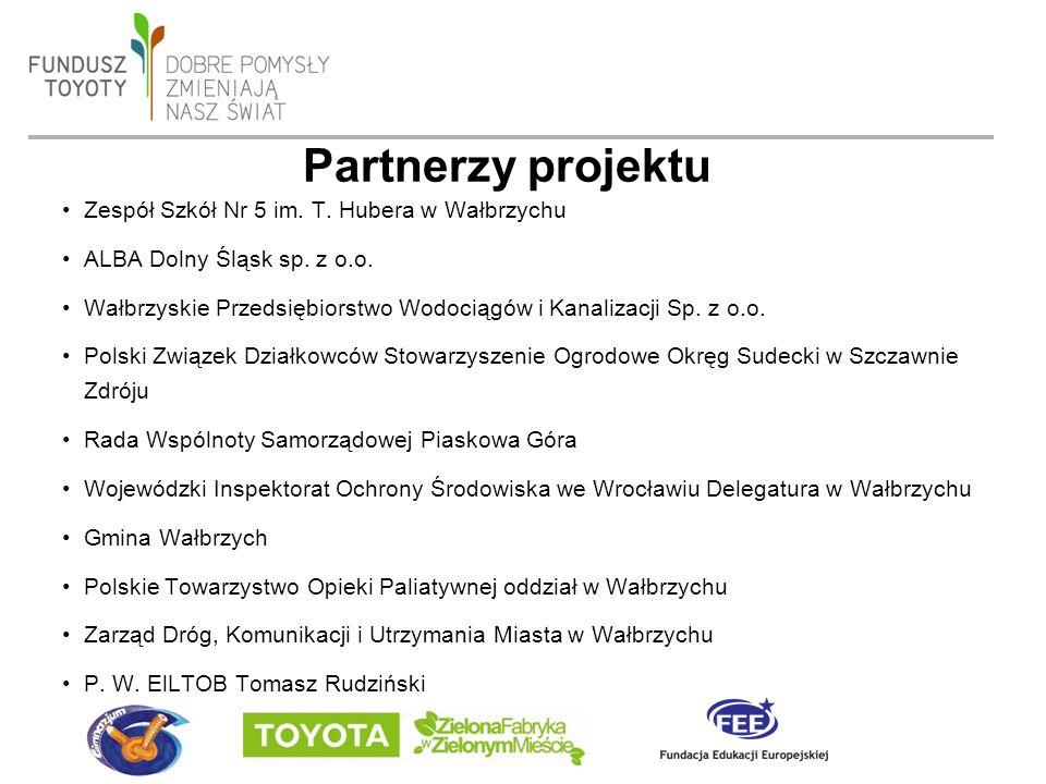 date 19/09/2016 - page 10 Partnerzy projektu Zespół Szkół Nr 5 im.