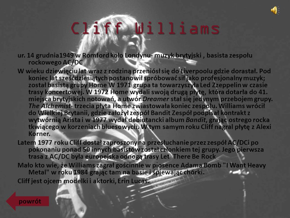 Cliff Williams ur.