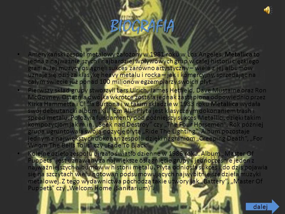 BIOGRAFIA Amerykański zespół metalowy założony w 1981 roku w Los Angeles.