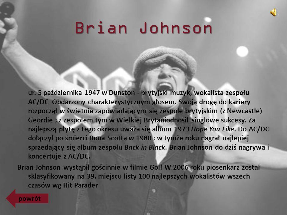 Brian Johnson ur.
