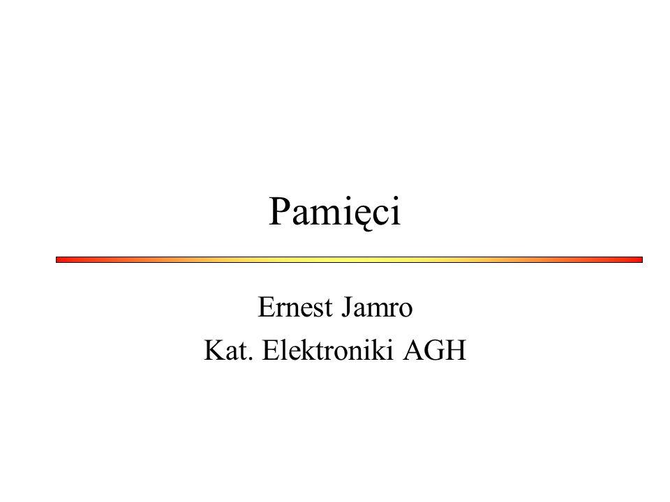 Pamięci Ernest Jamro Kat. Elektroniki AGH
