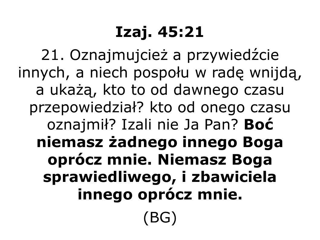 Mich 5:3 BT (3) I powstanie, a paść będzie mocą Jahwe, przez majestat imienia Boga swego, Jahwe.