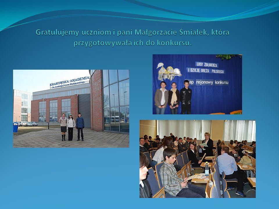 Do Małopolskiego Konkursu Przyrodniczego przystąpiło wielu uczniów naszej szkoły.