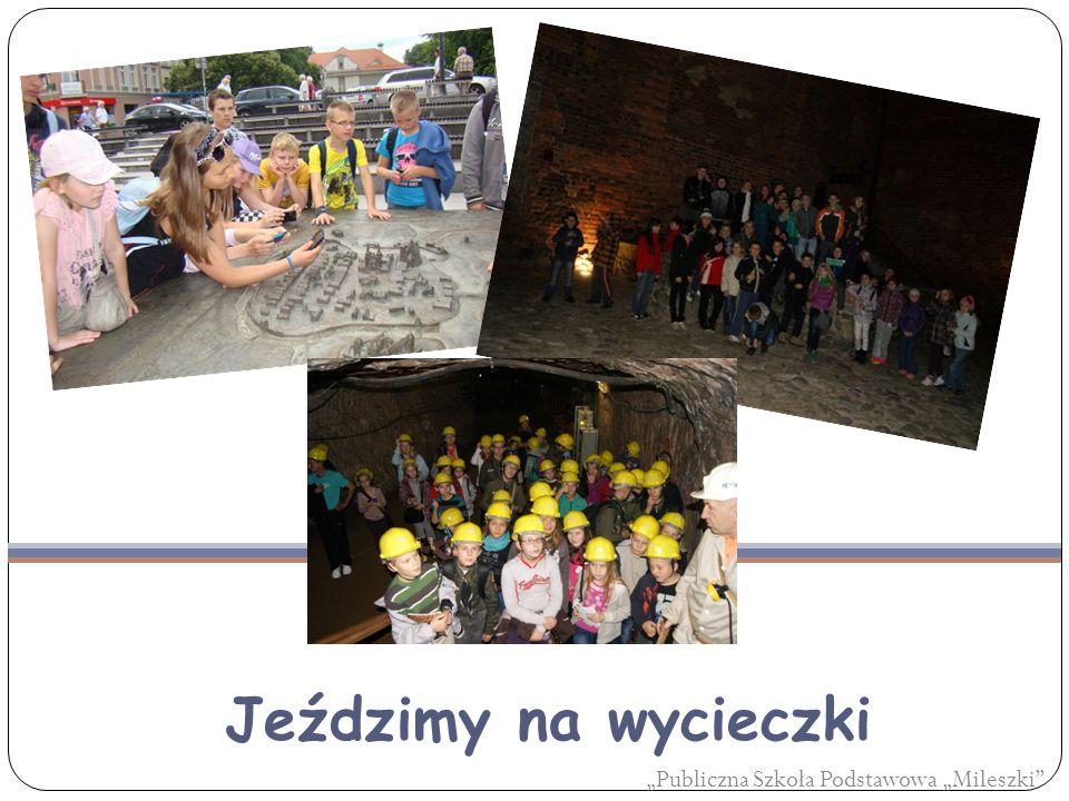 """Jeździmy na wycieczki """"Publiczna Szkoła Podstawowa """"Mileszki"""