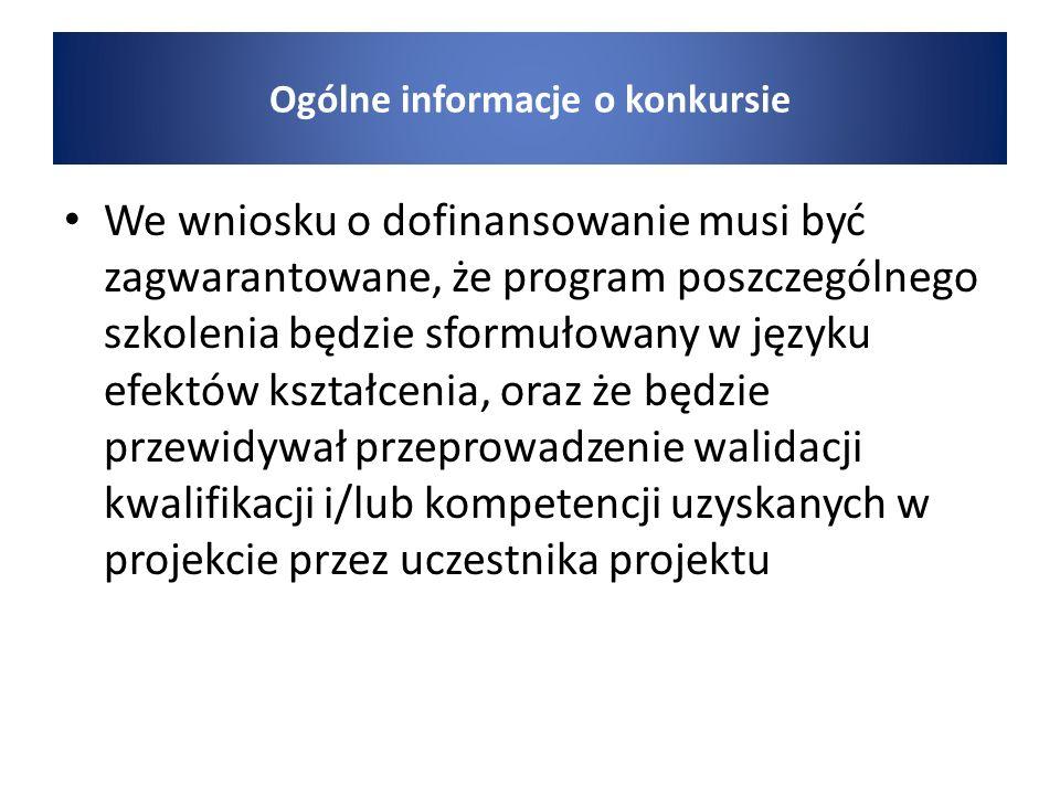 Kryteria wyboru projektu Kryterium dostępu nr 1 1.
