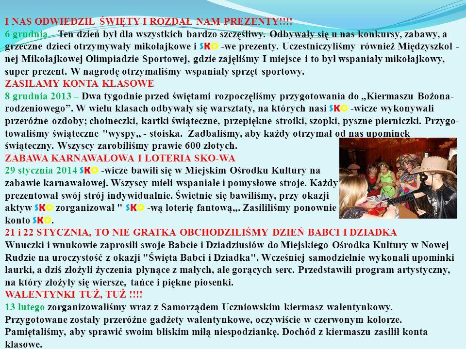 DLA KAŻDEJ DAMY PREZENCIK MAMY 8 marca Szkolna Kasa Oszczędności i Samorząd Uczniowski przygotowali program artystyczny dla pań i swoich koleżanek z okazji Święta Kobiet.