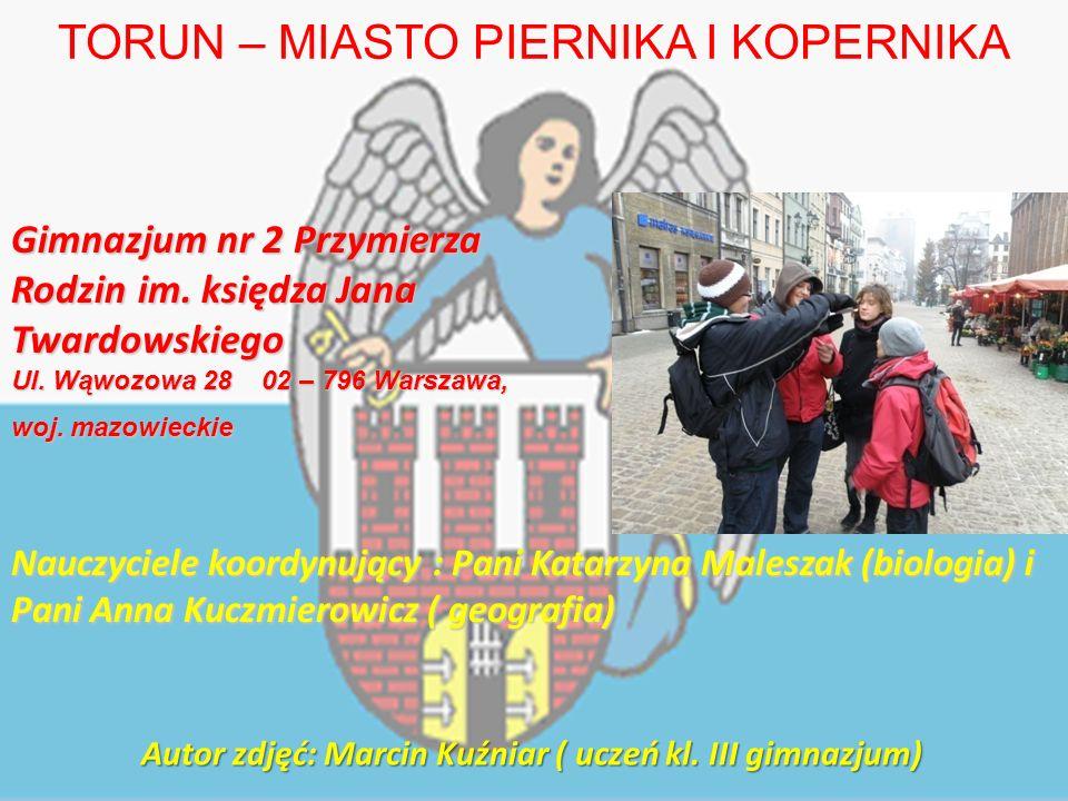 Gimnazjum nr 2 Przymierza Rodzin im. księdza Jana Twardowskiego Ul.
