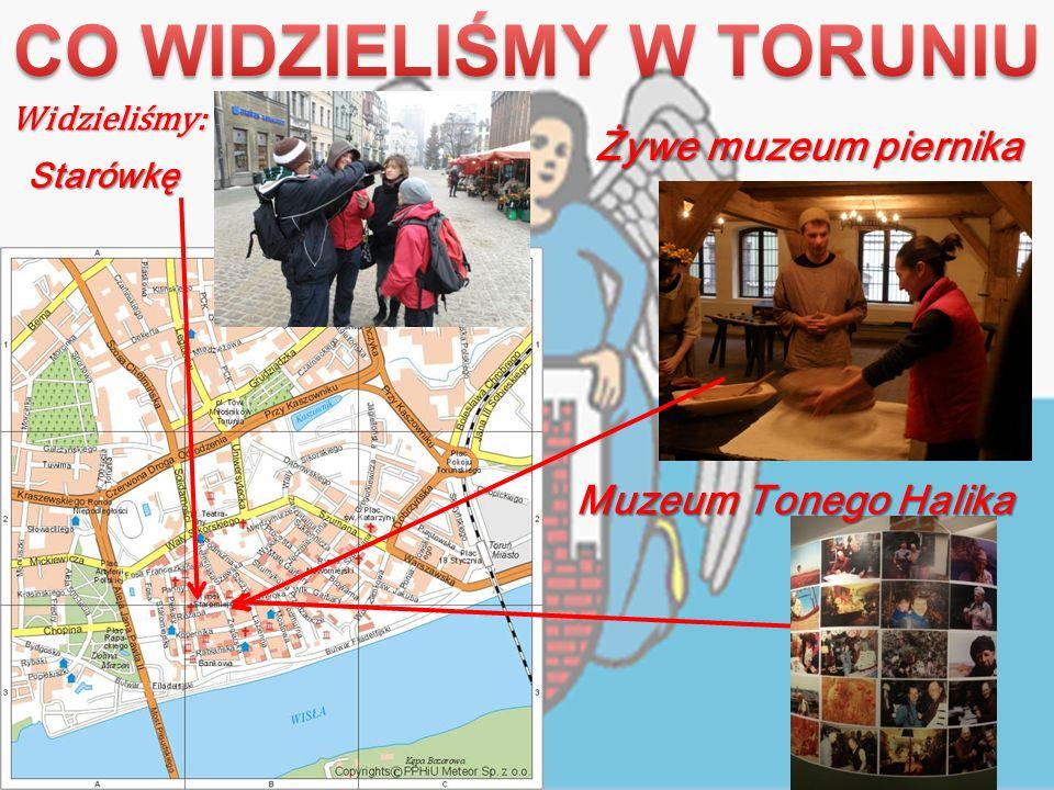 Żywe muzeum piernika Widzieliśmy: Starówkę Muzeum Tonego Halika