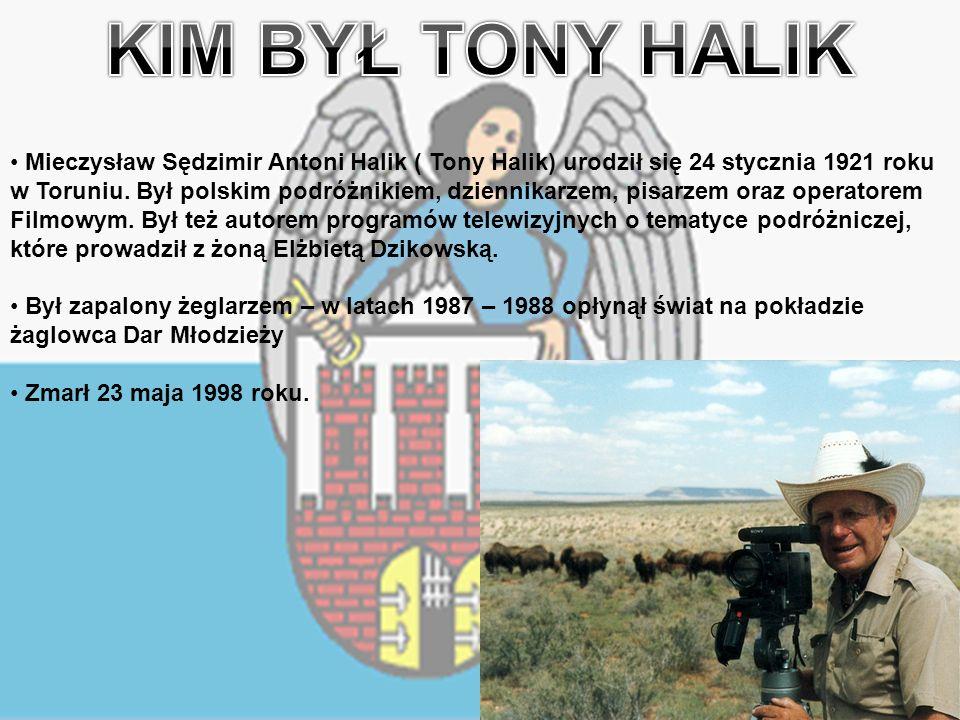 Mieczysław Sędzimir Antoni Halik ( Tony Halik) urodził się 24 stycznia 1921 roku w Toruniu.