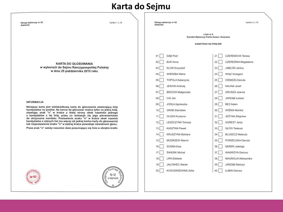 Karta do Sejmu