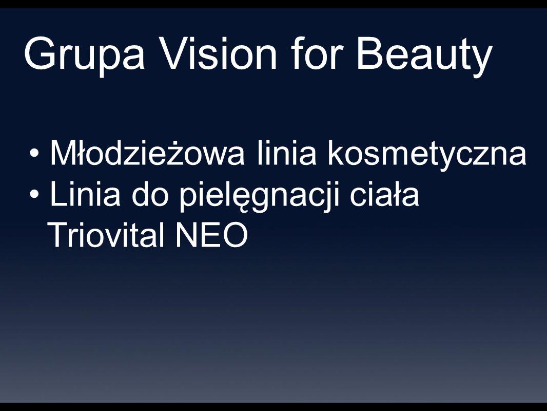 Grupa Vision for Beauty Młodzieżowa linia kosmetyczna Linia do pielęgnacji ciała Triovital NEO
