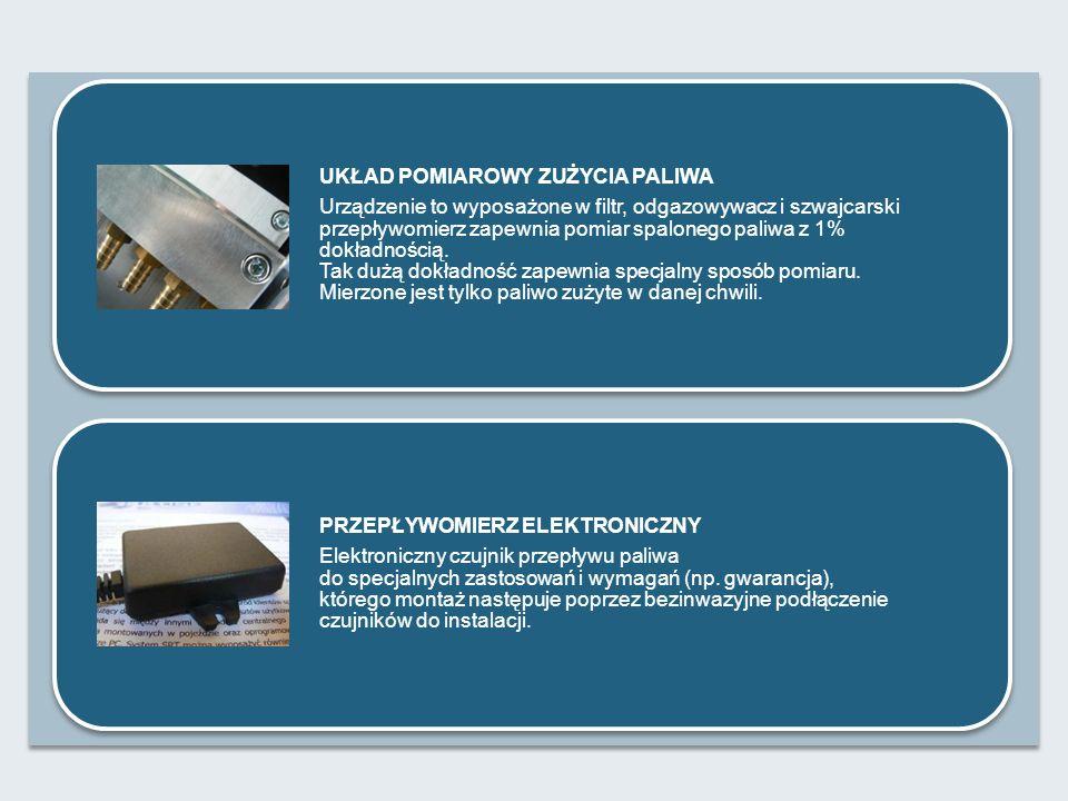 SONDA PALIWA Urządzenie zamontowane w zbiorniku pojazdu/maszyny, pozwalające monitorować w czasie rzeczywistym poziom (ilość) paliwa w zbiorniku.
