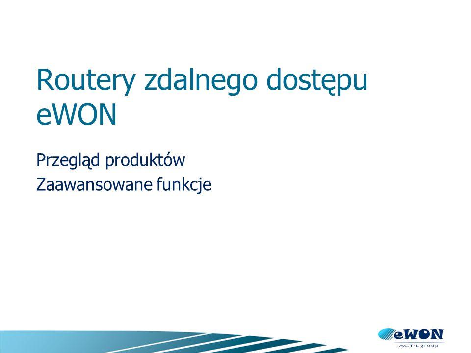eWON, Industrial VPN router.