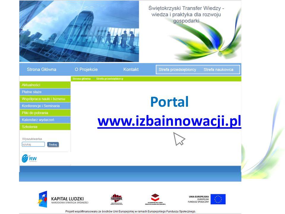 Portal www.izbainnowacji.pl www.izbainnowacji.pl