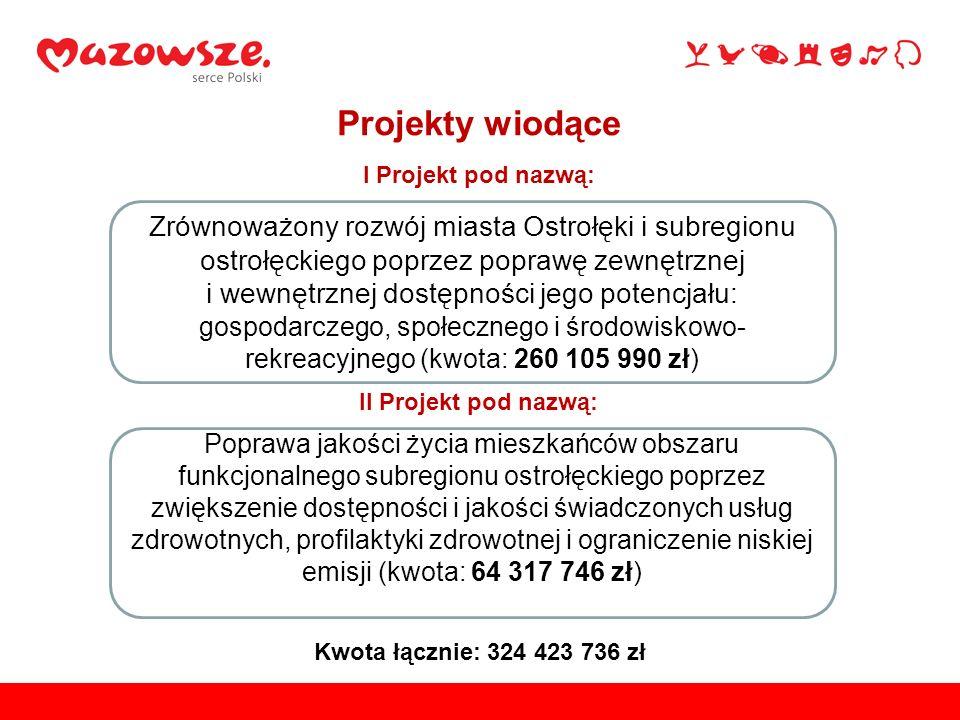 Poprawa jakości życia mieszkańców obszaru funkcjonalnego subregionu ostrołęckiego poprzez zwiększenie dostępności i jakości świadczonych usług zdrowot