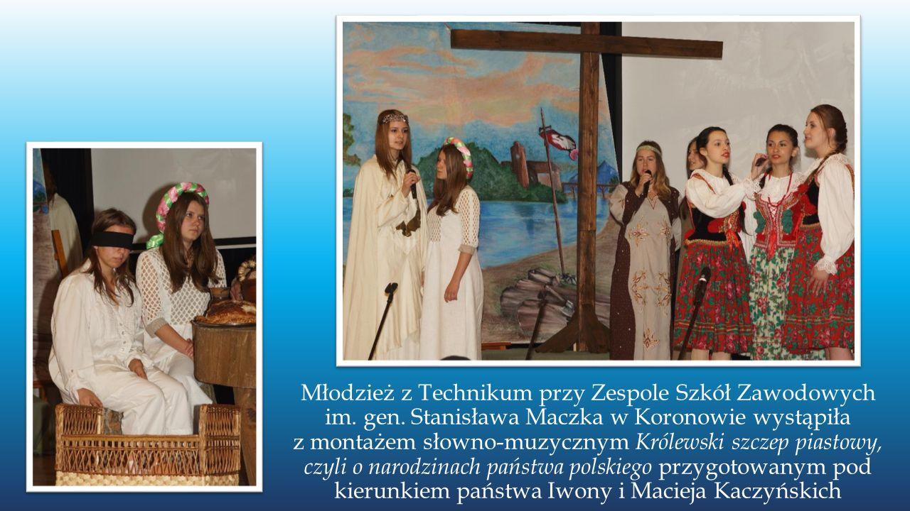 Młodzież z Technikum przy Zespole Szkół Zawodowych im.