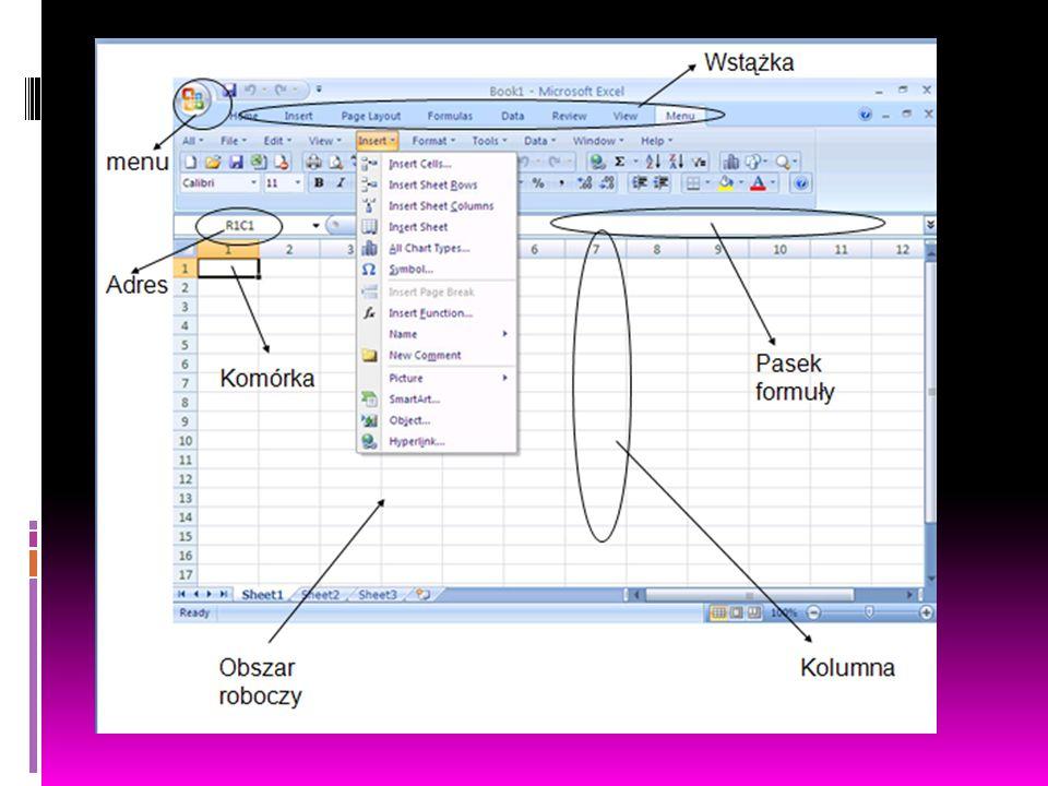 ZASTOSOWANIE  Programowanie  Ułatwianie pracy  Szybkie obliczanie  Spisywanie kosztów  Tworzenie tabel i wykresów  Obliczanie średniej, sumy, iloczynu, ilorazu, różnicy itp.