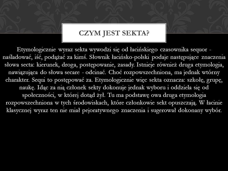 CECHY SEKT