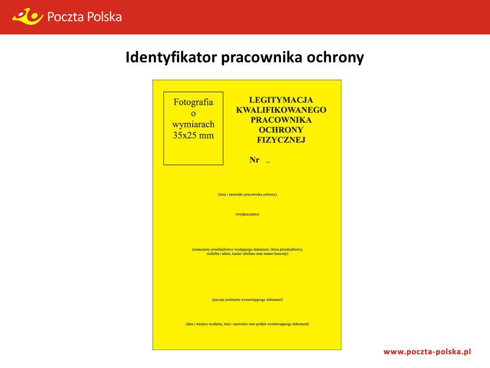Identyfikator pracownika ochrony