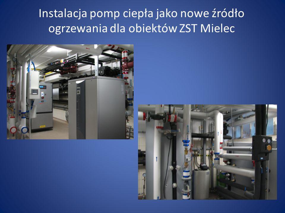 Instalacja pomp ciepła jako nowe źródło ogrzewania dla obiektów ZST Mielec