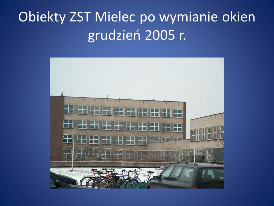 Obiekty ZST Mielec po kompleksowej termorenowacji czerwiec 2011 r.