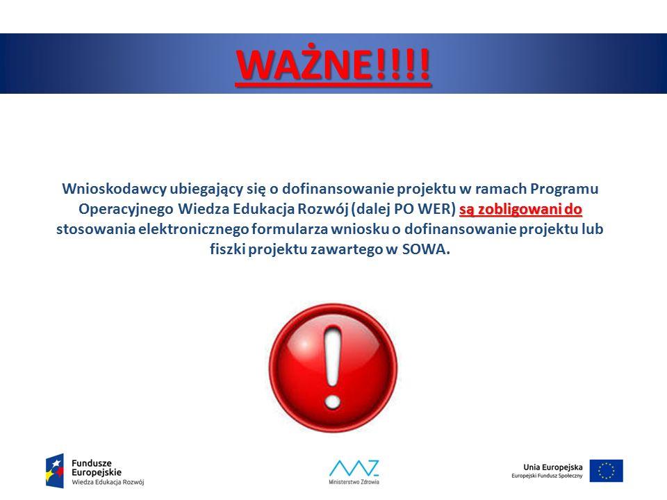 7 Zakładanie konta do systemu SOWA System Obsługi Wniosków Aplikacyjnych dla PO WER dostępny jest pod adresem: https://www.sowa.efs.gov.pl