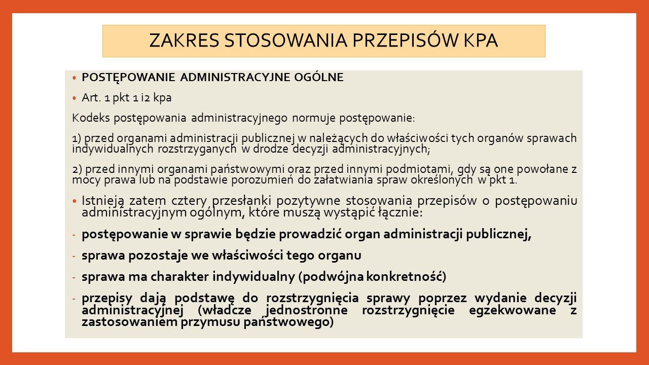 Art.99. [Obowiązki organu] Organ administracji publicznej, który z przyczyny określonej w art.