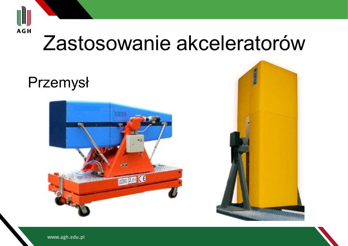 Zastosowanie akceleratorów Przemysł