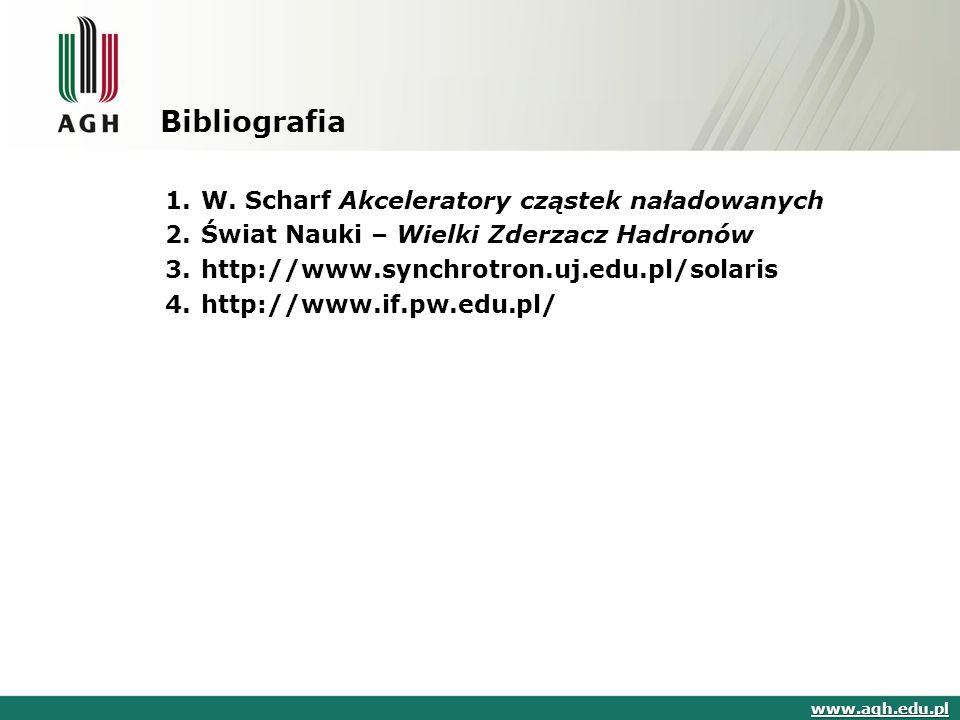 Bibliografia 1.W.