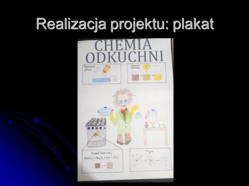 Realizacja projektu: plakat