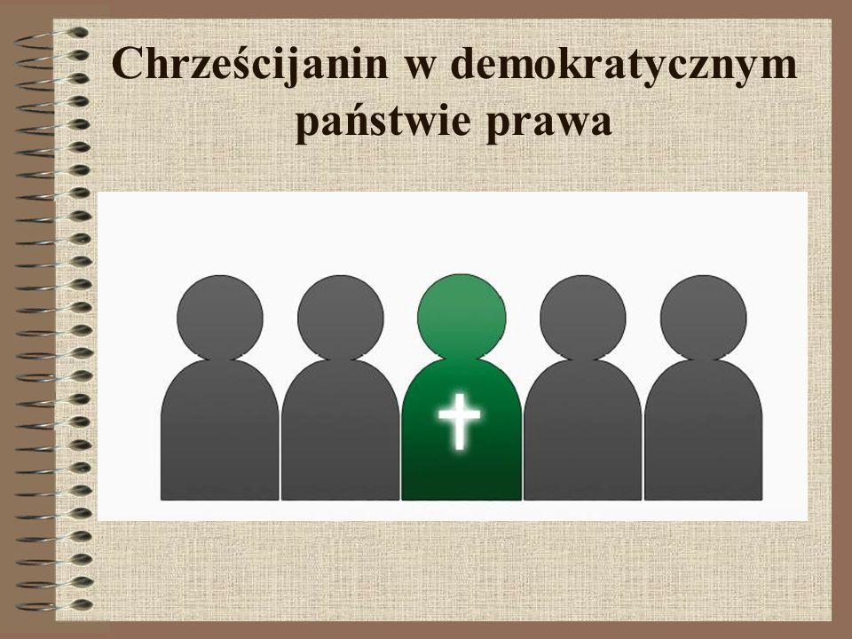 Chrześcijanin w demokratycznym państwie prawa