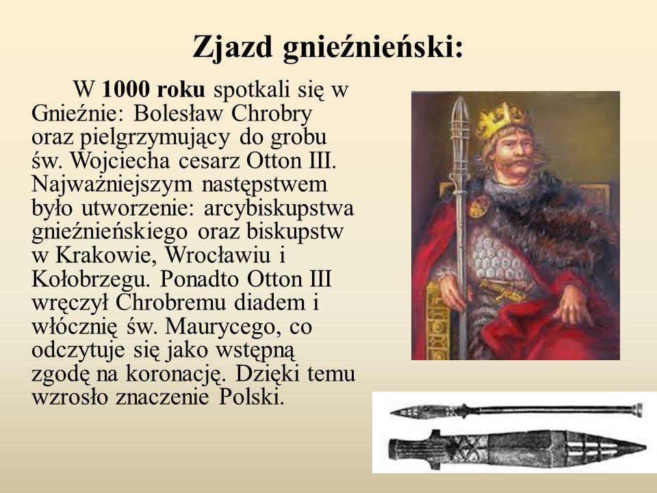 Misja Biskupa Wojciecha: W 997 roku polski władca Bolesław Chrobry (syn zmarłego Mieszka I) pomógł duchownemu w zorganizowaniu wyprawy misyjnej, której celem było nawrócenie na chrześcijaństwo pogańskich plemion Prusów.