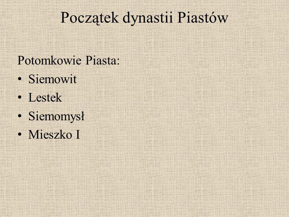 Legenda o Piaście…. Nieopodal Kruszwicy mieszkał Piast z żoną Rzepichą i synem.