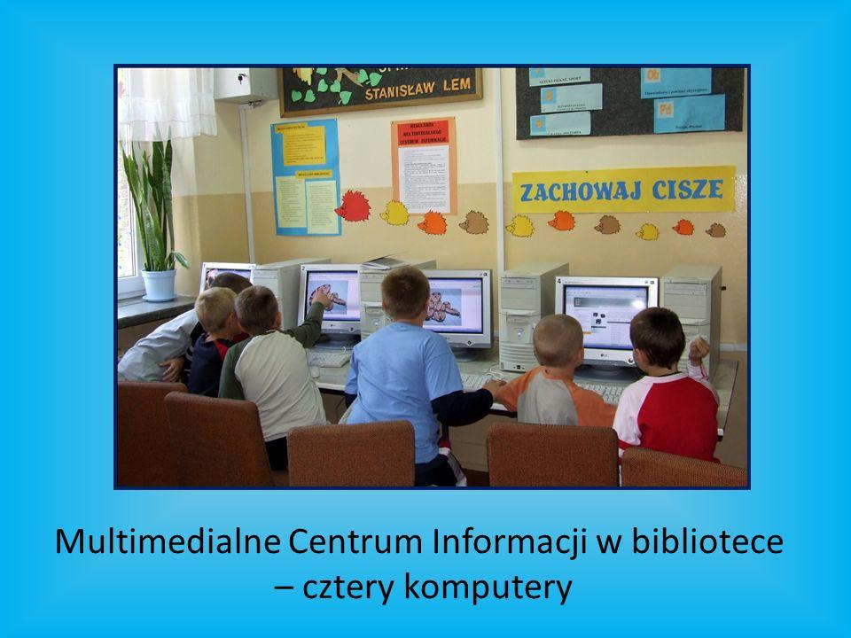 Multimedialne Centrum Informacji w bibliotece – cztery komputery