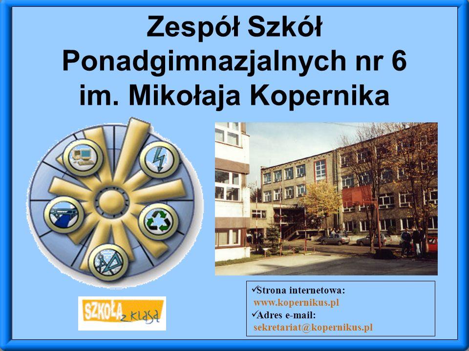 Zespół Szkół Ponadgimnazjalnych nr 6 im.
