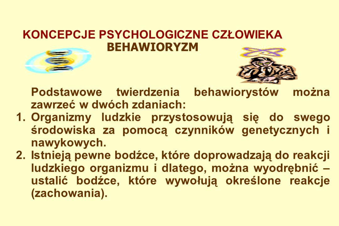 Behawioryzm to kierunek w psychologii rozwinięty w XX w., oparty na pragmatyzmie, głoszący, że przedmiotem badań psychologicznych może być tylko dostrzegalne zachowanie się ludzi i zwierząt, nie zaś niedostępne dla obserwatora zjawiska psychiczne.