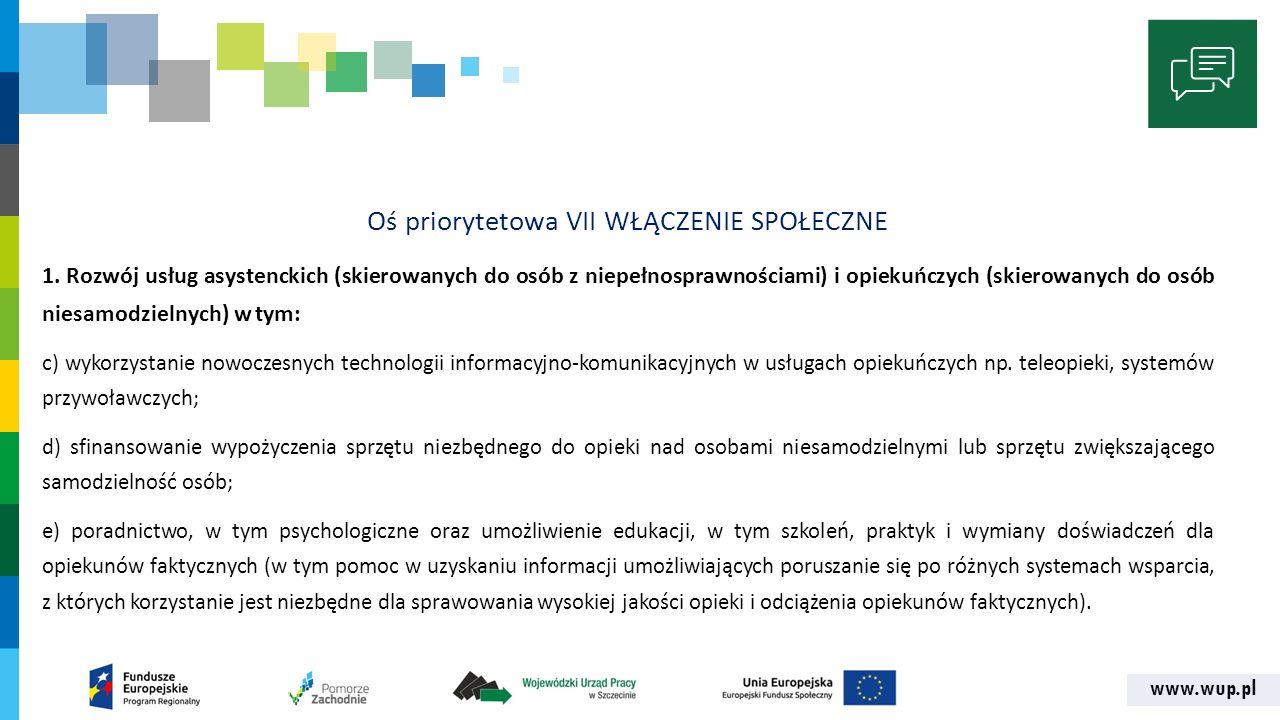 www.wup.pl KRYTERIA DOPUSZCZALNOŚCI 6.