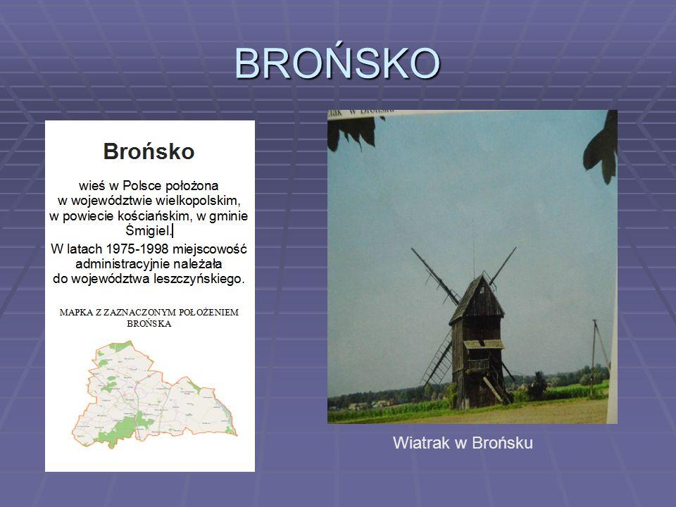 BROŃSKO Wiatrak w Brońsku