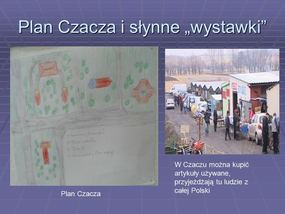 """Plan Czacza i słynne """"wystawki"""" Plan Czacza W Czaczu można kupić artykuły używane, przyjeżdżają tu ludzie z całej Polski"""
