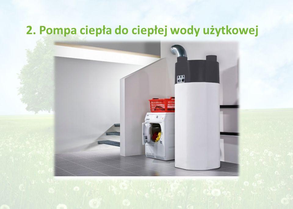 2. Pompa ciepła do ciepłej wody użytkowej